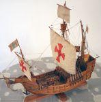 Το Σάντα Μαρία στο οποίο επέβαινε ο Χριστόφορος Κολόμβος όταν  ανακάλυψε την Αμερική.